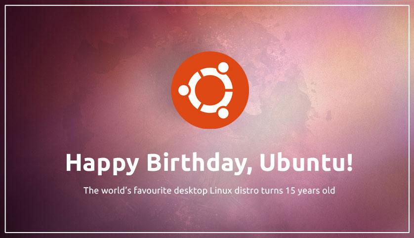 Ubuntu 15 周年!目前是市场上最受欢迎的Linux版本