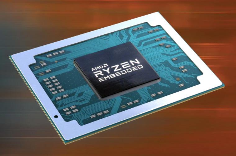 AMD锐龙嵌入式系统小如3.5寸硬盘:四路独立4K输出