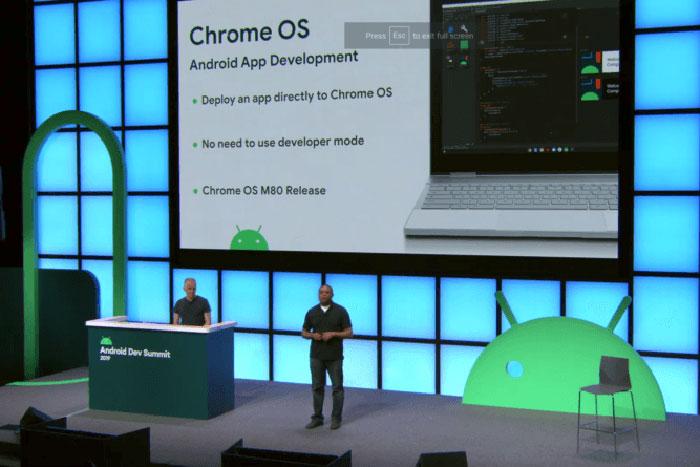 Chrome OS 80将为Chromebook带来侧载Android应用的支持