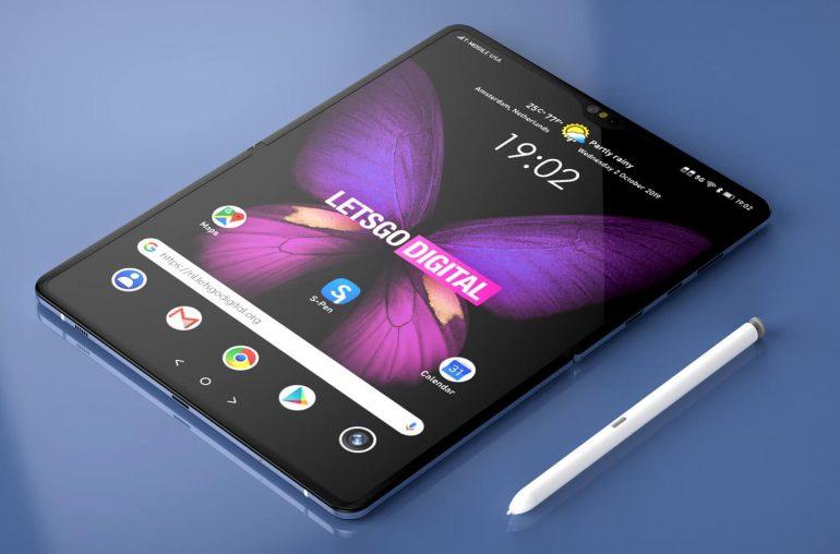 三星Galaxy Fold 2曝光:支持S Pen 或MWC2020上发布