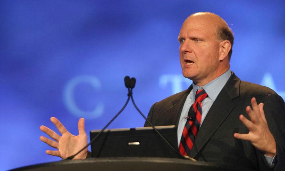 微软前CEO鲍尔默:Surface系列利润很大 发展迅速