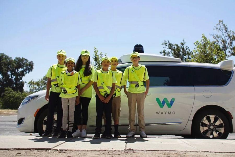 [图]Waymo和AAA合作:邀请青少年参观工厂并提供相关课程