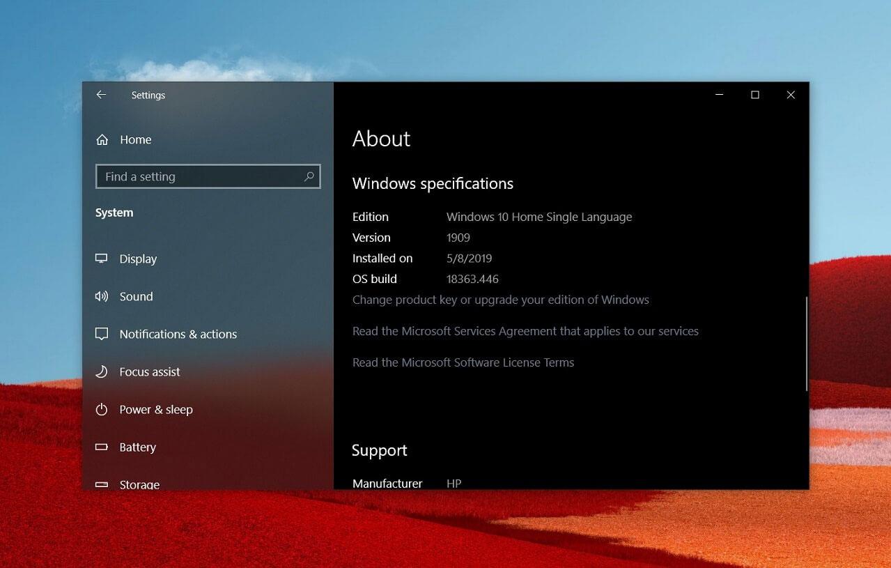 微软正在测试面向Windows 10 1903的重要补丁