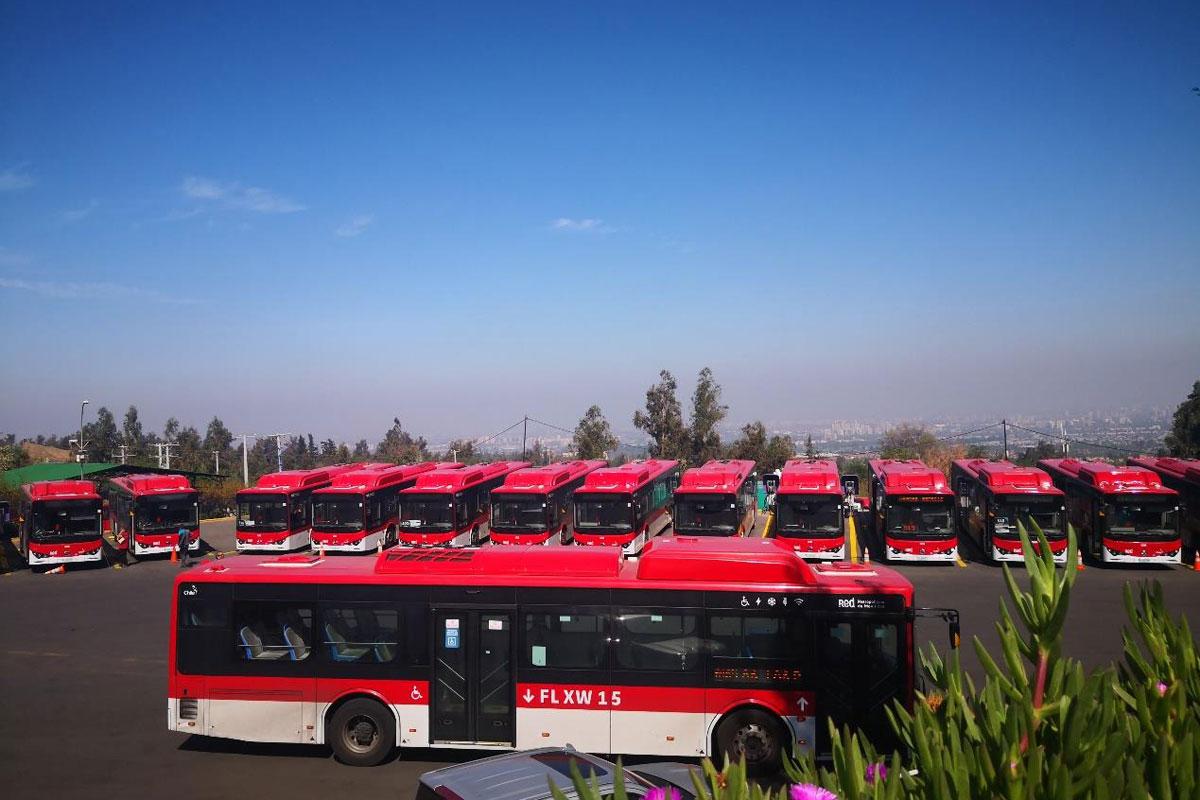 拉美首条电动巴士专线开通:车辆全部来自比亚迪