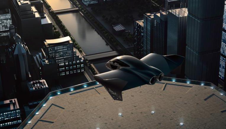 波音与保时捷合作开发电动飞行汽车