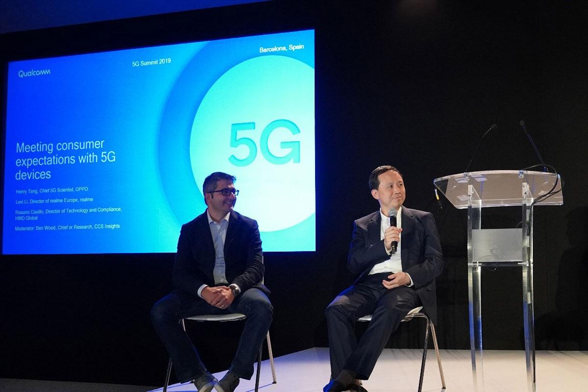 OPPO将在年底前全球首发高通双模5G手机