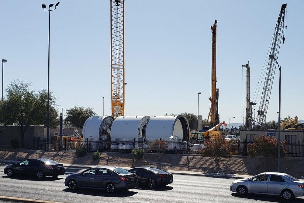 拉斯维加斯隧道项目全面施工 马斯克旗下公司承建
