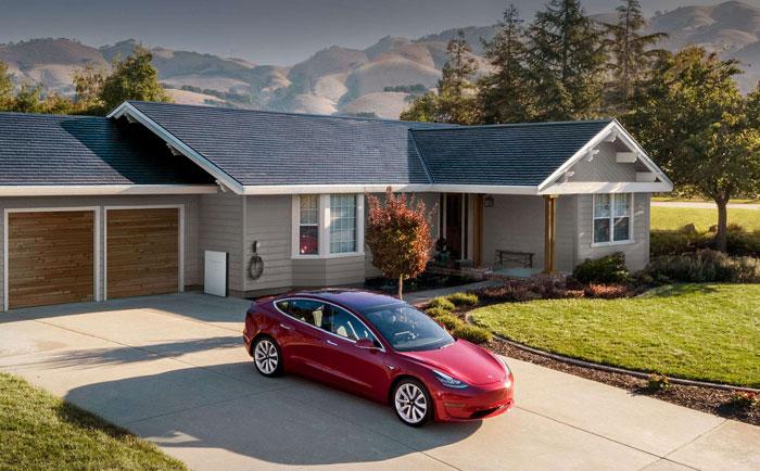 特斯拉推出新版本太阳能屋顶 马斯克:潜在市场一个亿
