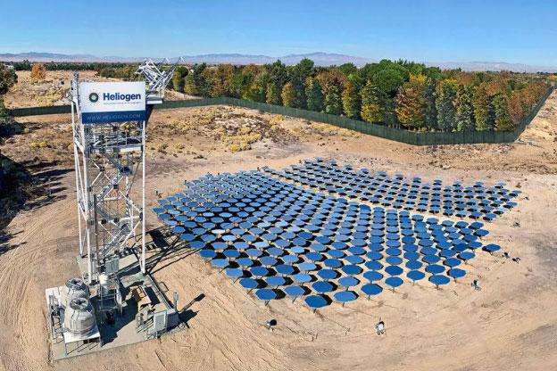 聚光太阳能新突破:制造上千度高温