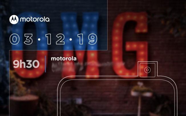 摩托罗拉首款弹出式摄像头新机将于12月3日在巴西发布