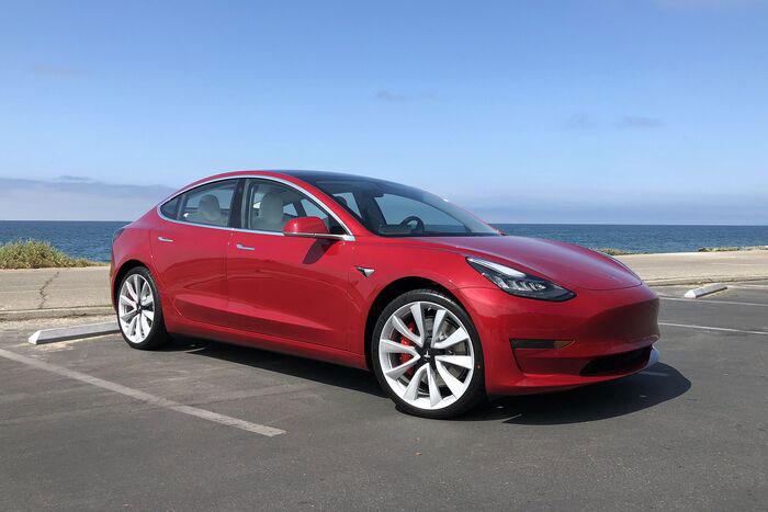 特斯拉Model 3标准续航升级版成市售能效比最高的电动车型