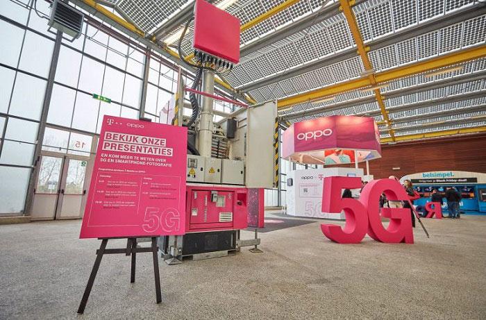T-Mobile携手OPPO在欧洲进行首次公开5G测试