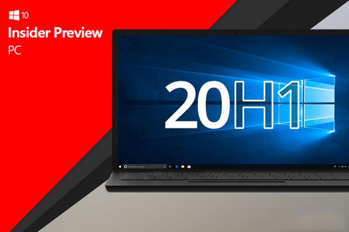Windows 10 20H1预览版移除水印:正式版近在眼前