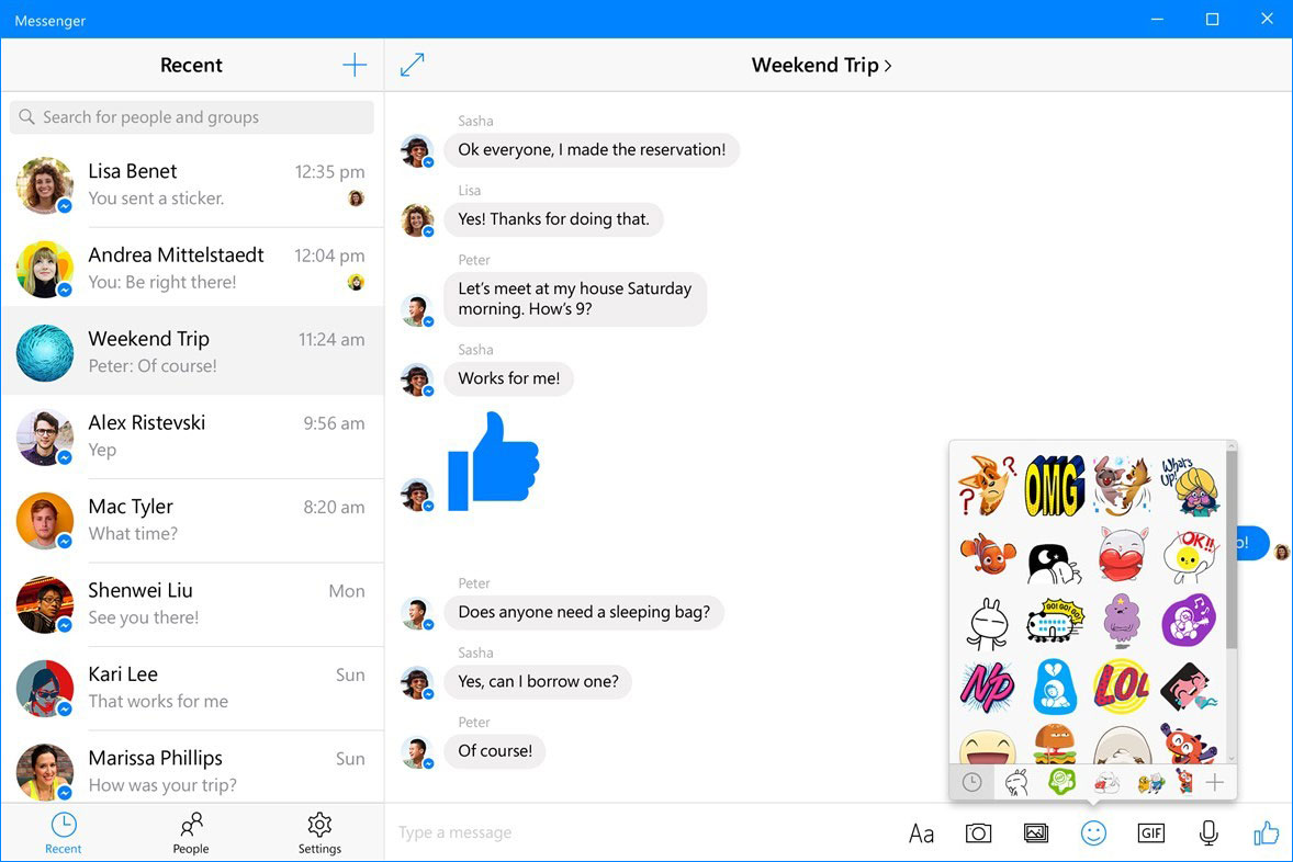 Facebook发布Windows 10 Messenger重大更新