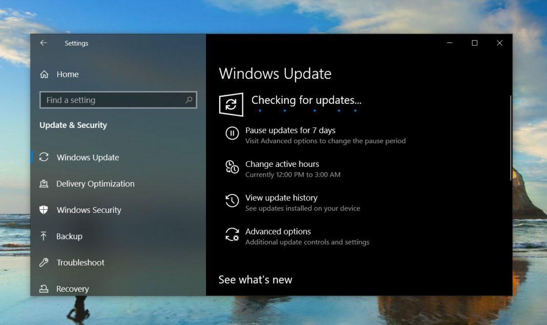 Windows 10 November 2019 更新已经正式开始推送