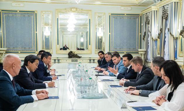 乌克兰总统与马云会谈 称想出现马云一样的人