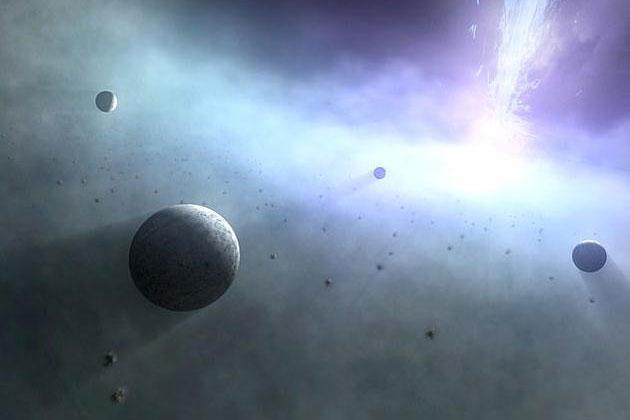 数万颗巨行星像地球环绕太阳一样在黑洞周围运行