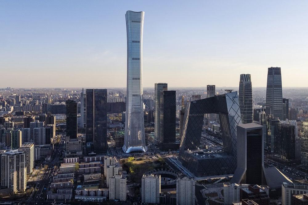 528米:北京最高地标来了,中信大厦通过竣工验收