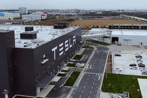 特斯拉上海电池生产设施将完工 Model 3已组装超百辆