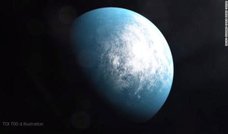 NASA发现首个可能适合人类居住的系外行星
