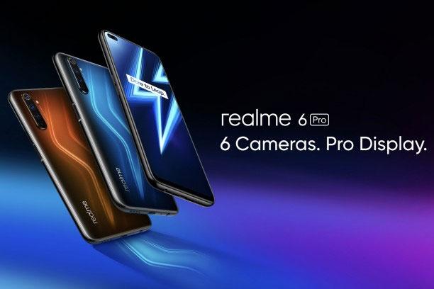 首发高通骁龙720G realme 6 Pro上市:1600元起