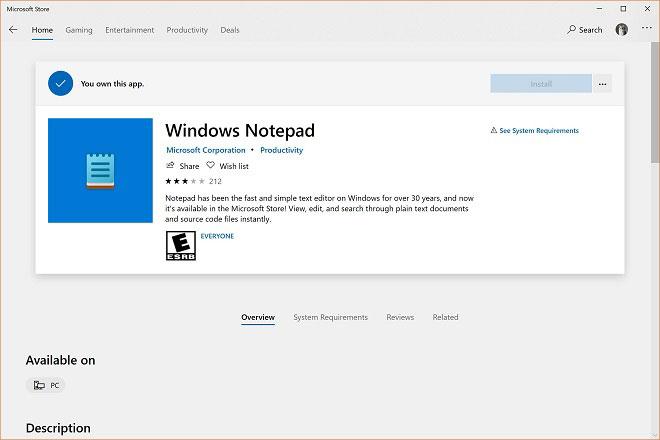 微软为Windows 10记事本应用带来全新图标