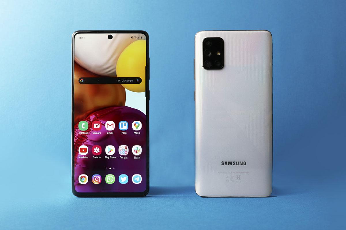 三星将发布中端 5G 机型 Galaxy A71:矩形四摄/居中打孔屏