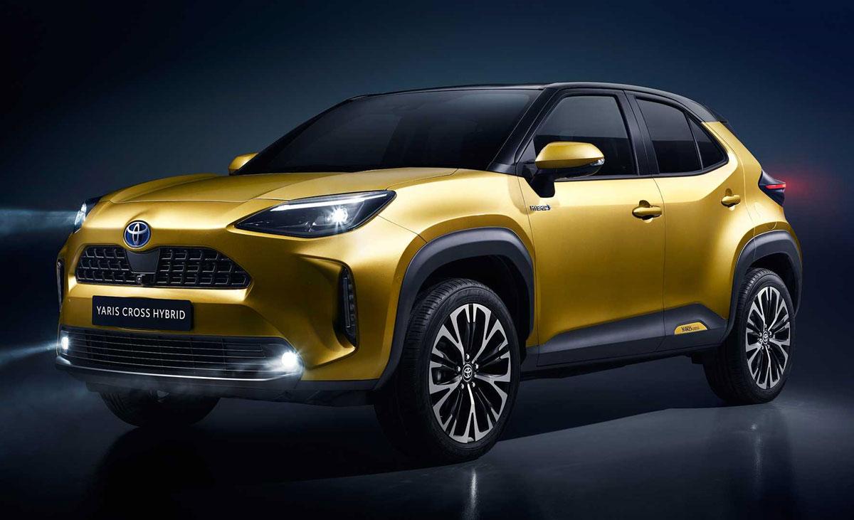 TNGA架构+混动!丰田全新小型SUV发布:还有四驱