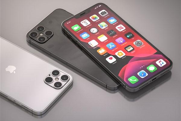 iPhone 12最新渲染图曝光 手机中框更加硬朗
