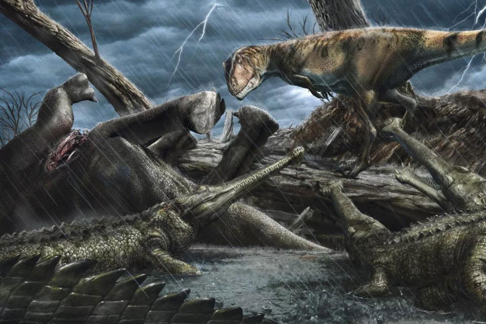 科学家找到地球历史长河中最危险的地方