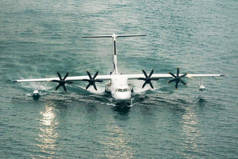 大型水陆两栖飞机AG600今年将海上首飞