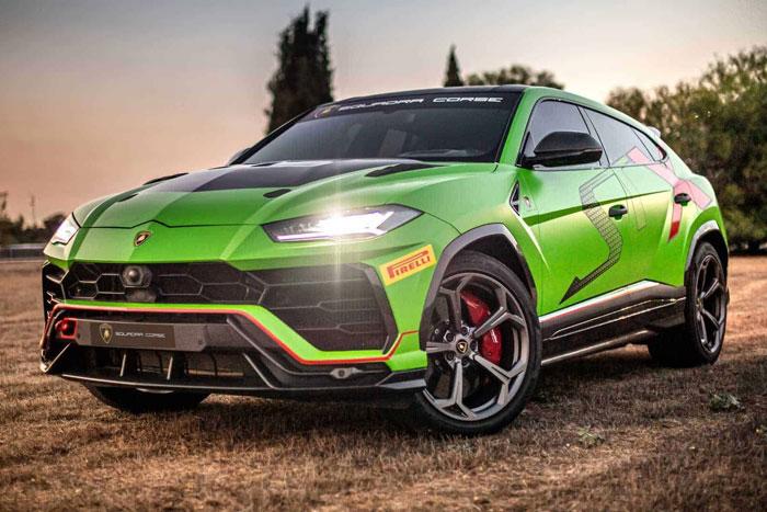 全球最快的量产燃油SUV?兰博基尼神秘车型将面世