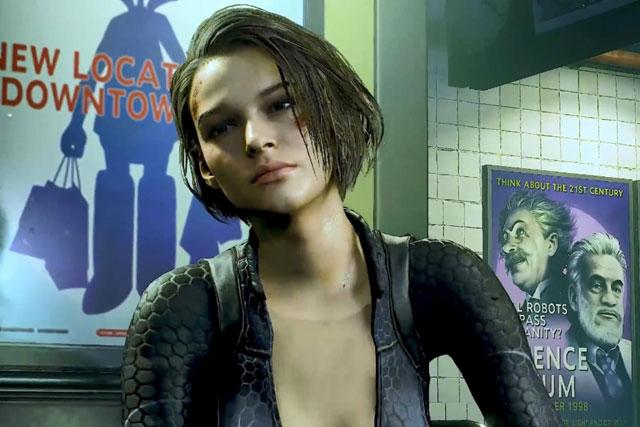 《生化危机3:重制版》加强MOD:吉尔潜水服突显性感身材