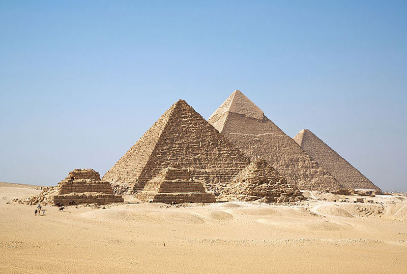 建造一座金字塔到底需要多少人?推算结果显示7000人足够