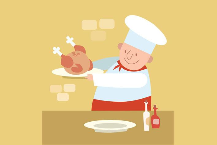 研究警告称烹饪鸡肉的常见方法可能并不安全