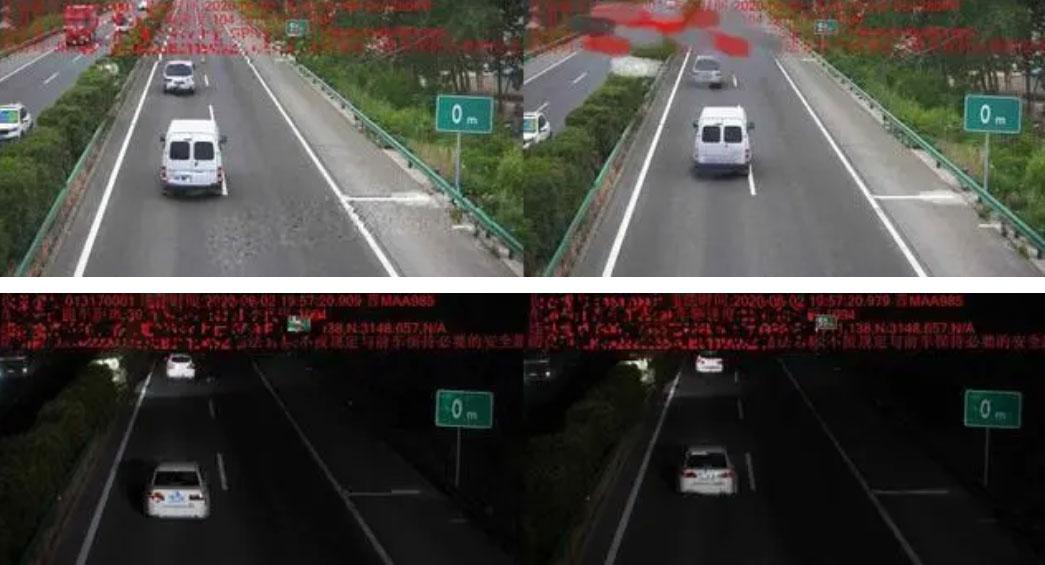 高速跟车距离过近也会被抓拍 罚款200块!上线三天就有多车中招