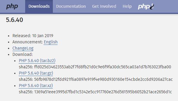 CentOs7.3手动安装PHP5.6.40总结